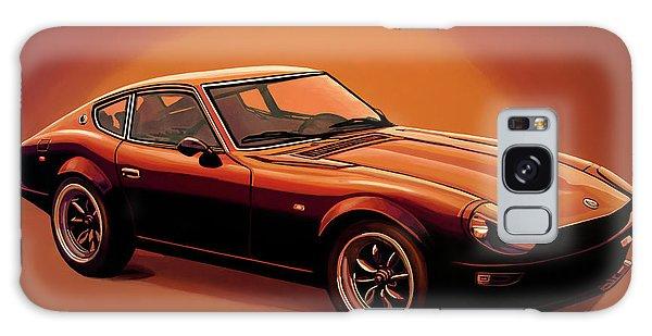 Motor Galaxy Case - Datsun 240z 1970 Painting by Paul Meijering