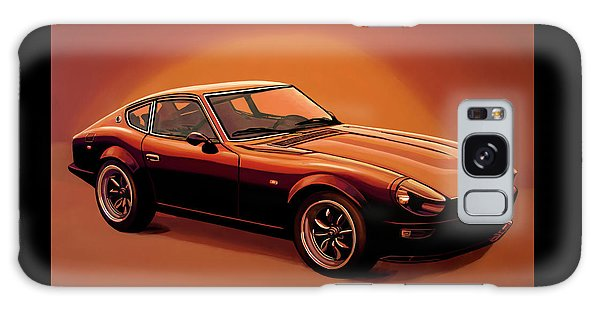 Coupe Galaxy Case - Datsun 240z 1970 Painting by Paul Meijering