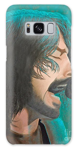 Dave Grohl Of The Foo Fighters Galaxy Case