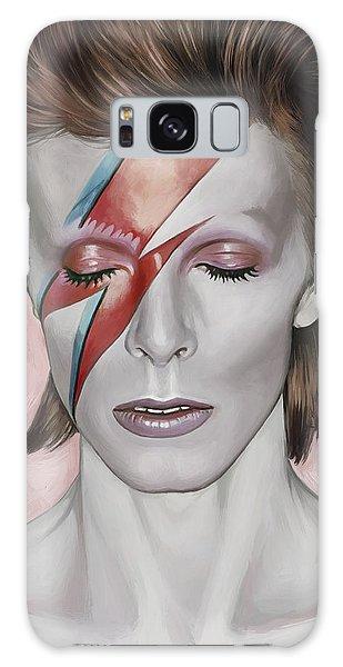 David Bowie Artwork 1 Galaxy Case