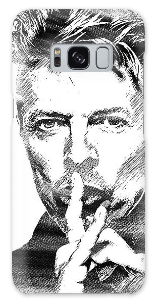 David Bowie Bw Galaxy Case by Mihaela Pater