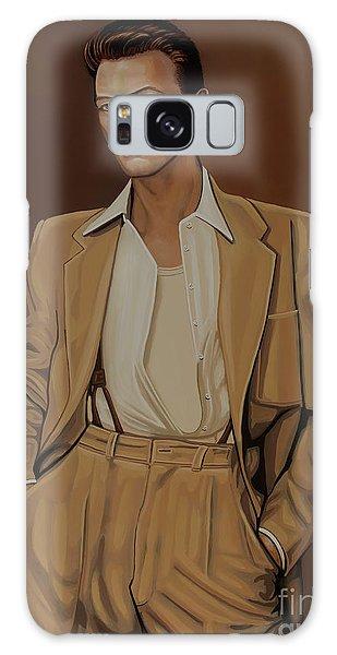 Cd Galaxy Case - David Bowie Four Ever by Paul Meijering