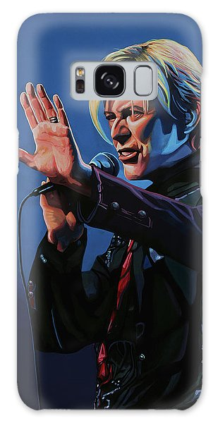 David Bowie Live Painting Galaxy Case