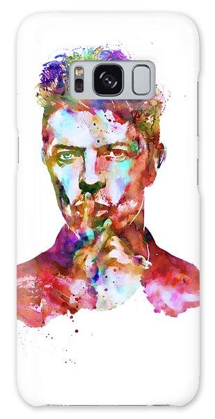 David Bowie  Galaxy Case by Marian Voicu