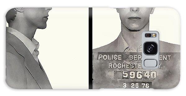 David Bowie Mugshot 1976 Galaxy Case