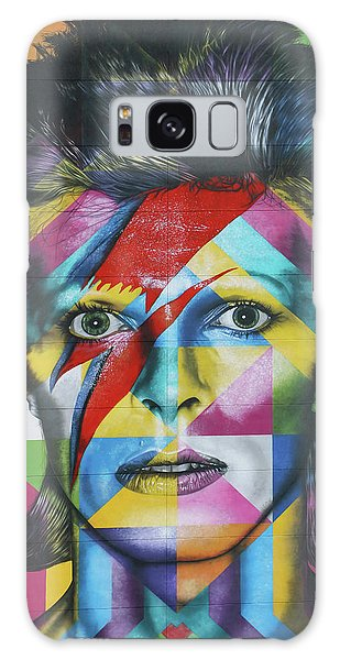 David Bowie Mural # 3 Galaxy Case