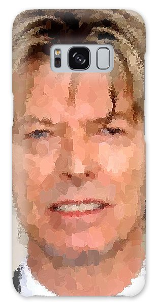 David Bowie Portrait Galaxy Case