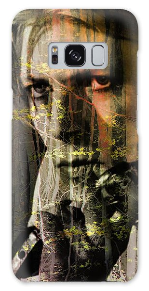 Glam Rock Galaxy Case - David Bowie / The Man Who Fell To Earth  by Elizabeth McTaggart