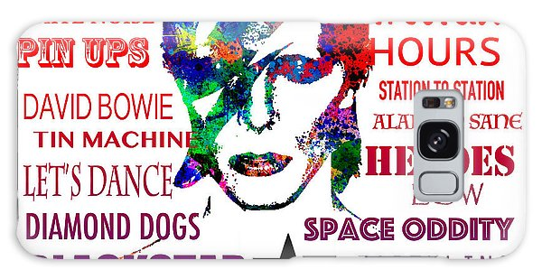 David Bowie Tribute Galaxy Case