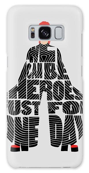 Kansai Galaxy Case - David Bowie Typography Art by Inspirowl Design