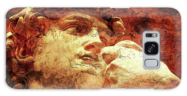 David By Michelangelo Galaxy Case by J- J- Espinoza
