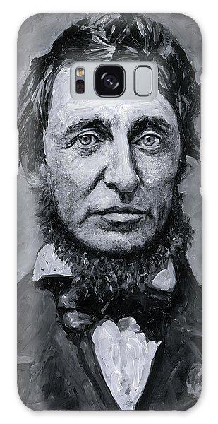 David Henry Thoreau Galaxy Case