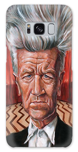 David Lynch Galaxy Case by Mark Tavares