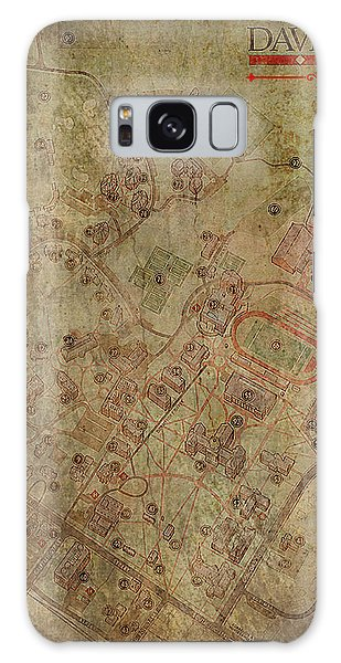 Galaxy Case - Davidson College Map by Paulette B Wright