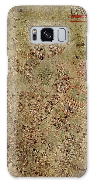 Davidson College Map Galaxy Case