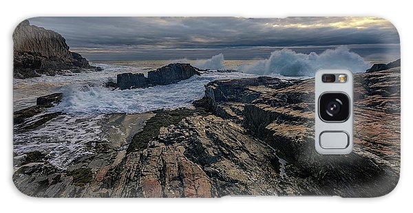 Dawn At Bald Head Cliff Galaxy Case by Rick Berk