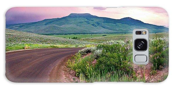 Dawn At Flattop Mountain Galaxy Case