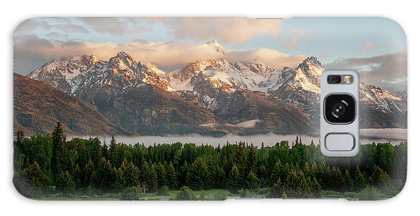 Dawn At Grand Teton National Park Galaxy Case