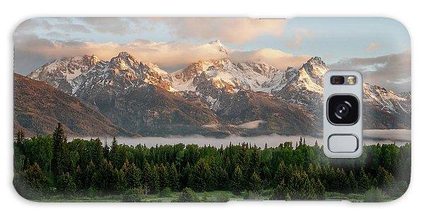 Dawn At Grand Teton National Park Galaxy Case by Brian Harig
