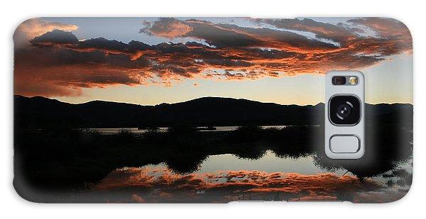 Dawn At Lake Dillon Galaxy Case