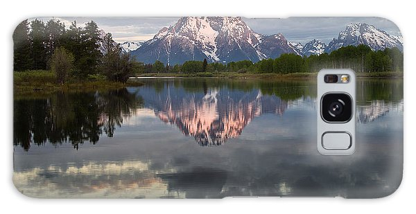 Dawn At Oxbow Bend Galaxy Case