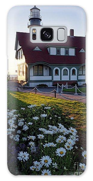 Dawn At Portland Head Light, Cape Elizabeth, Maine  -08614 Galaxy Case by John Bald