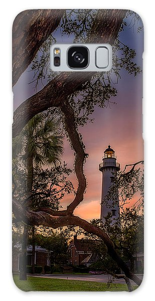 Dawn At Saint Simons Lighthouse Galaxy Case