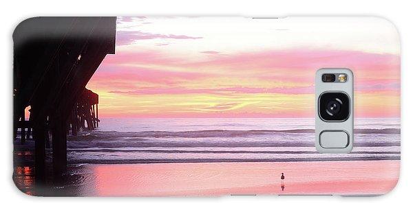 Dawn At The Beach 8-14-16 Galaxy Case