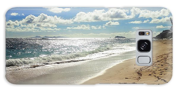 Galaxy Case featuring the photograph Dawn Beach by Lars Lentz