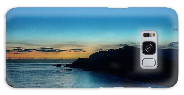 Dawn Blue In Mediterranean Island Of Minorca By Pedro Cardona Galaxy Case