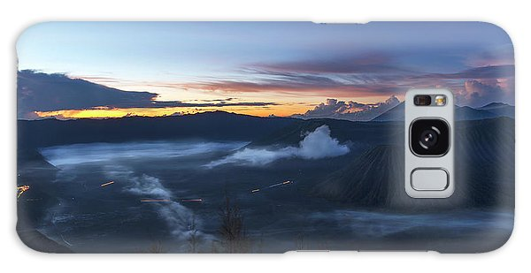 Dawn Breaking Scene Of Mt Bromo Galaxy Case