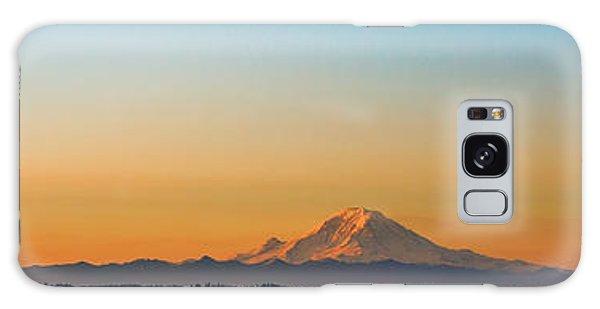 Dawn Breaks Galaxy Case by James Heckt