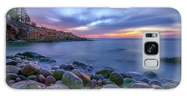 Dawn In Monument Cove Galaxy Case by Rick Berk