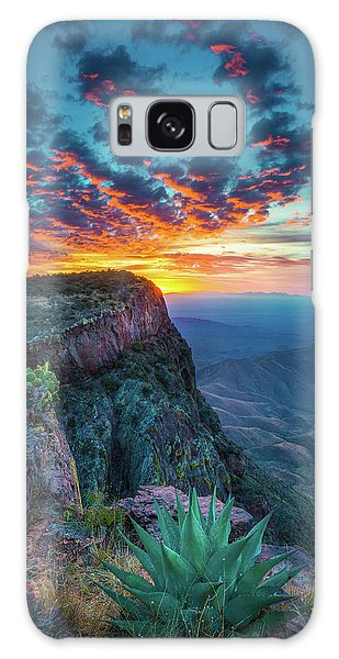 Dawn In The Chisos Galaxy Case