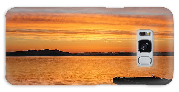 Dawn In The Sky At Dusavik Galaxy Case