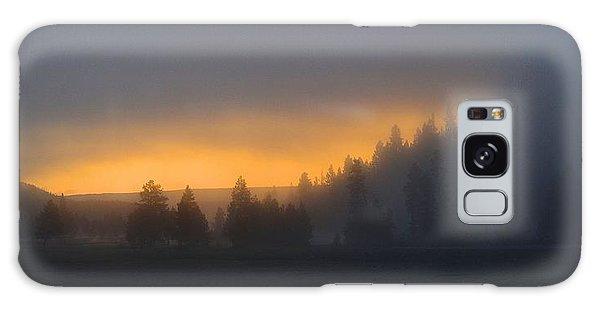 Dawn On A Misty Morning Galaxy Case