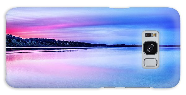 Dawn On Bainbridge Island Galaxy Case by Spencer McDonald