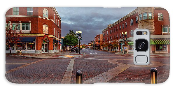Dawn On Park Street Galaxy Case