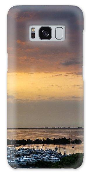 Dawn On The Bay Galaxy Case