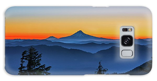 Dawn On The Mountain Galaxy Case