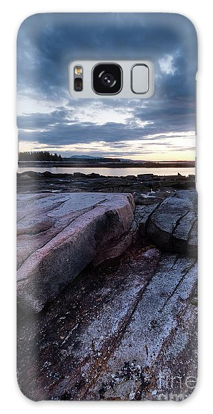 Dawn On The Shore In Southwest Harbor, Maine  #40140-40142 Galaxy Case