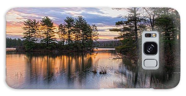 Dawn Serenity At Lake Tiorati Galaxy Case