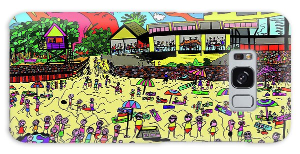 Galaxy Case - Day At The Beach by Karen Elzinga