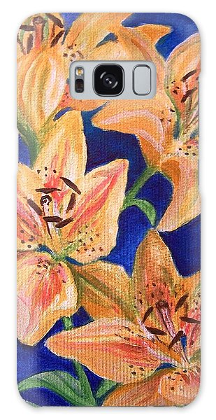 Day Lilies Galaxy Case