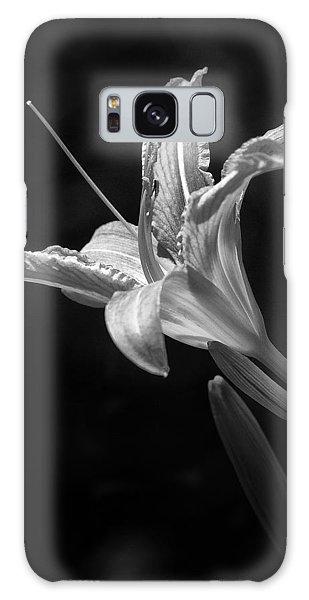 Day Lily Profile Galaxy Case