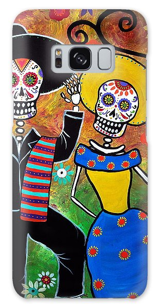 Day Of The Dead Bailar Galaxy Case