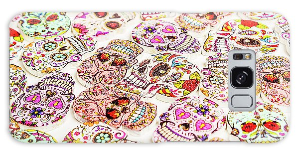 Voodoo Galaxy Case - Day Of The Dead Colors by Jorgo Photography - Wall Art Gallery