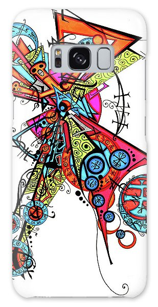 Day Of The Dead Cross Galaxy Case