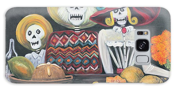 Day Of The Dead Family Galaxy Case