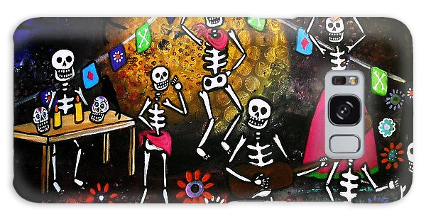 Day Of The Dead Festival Galaxy Case